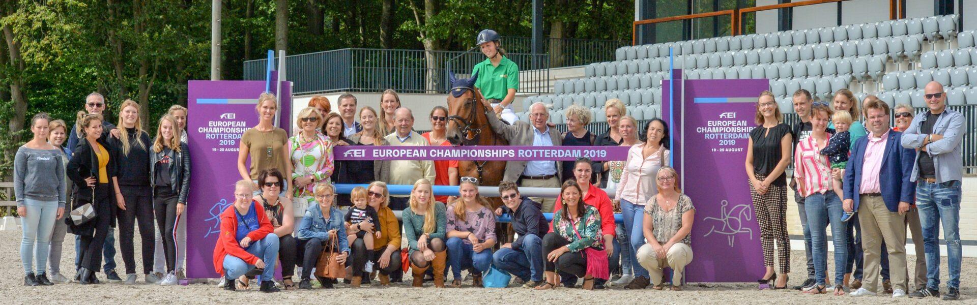 FEI European Championship 2019 Rotterdam Sponsors NL