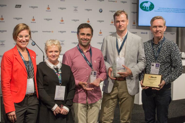 Uitreiking Equestrian awards
